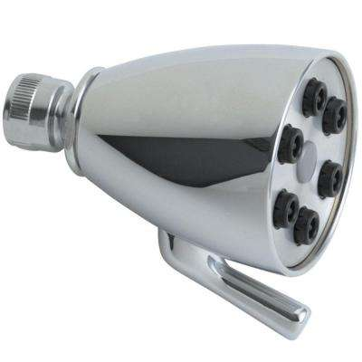 2-Spray 2-7/8 in. Fixed Shower Head in Chrome