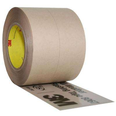 4 in. x 75 ft. Tan Slit Liner Window and Door Flashing Tape (Case of 4)