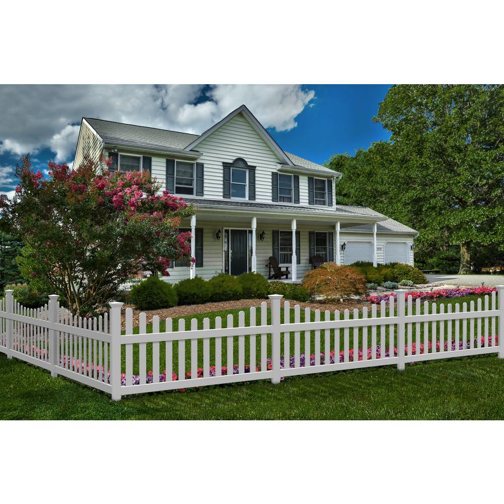 Zippity Outdoor Products ZP19043 All American Gate White