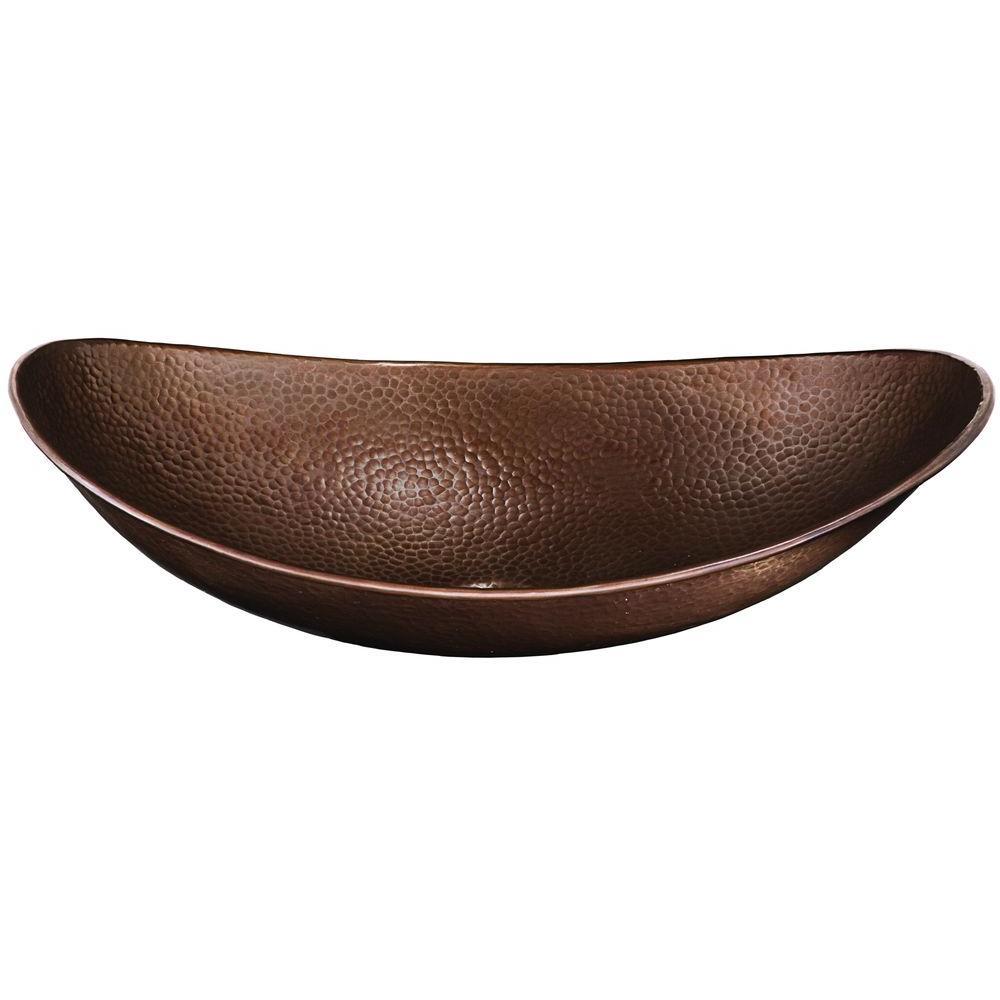 SINKOLOGY Vessel Sink in Antique Copper