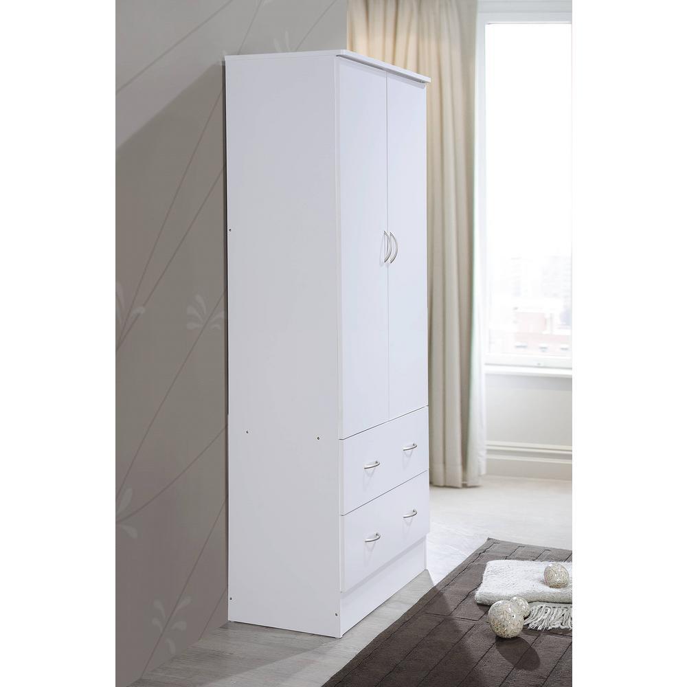 ghdonat.com Home & Kitchen Bedroom Armoires 31,5 73 18,11 White ...