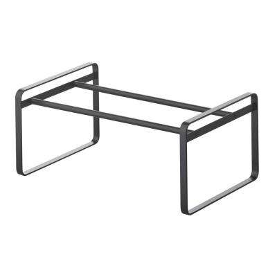 Frame 6-pair black Adjustable Shoe Rack steel