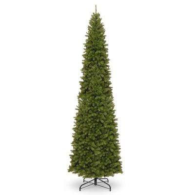 16 ft. North Valley Spruce Pencil Slim Artificial Christmas Tree