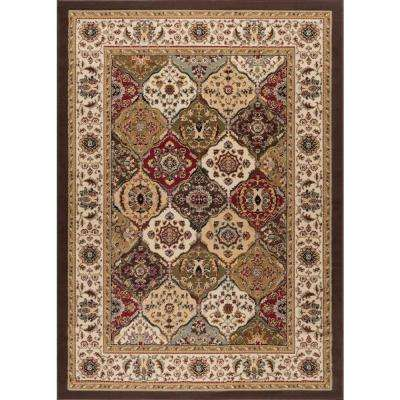 Laguna Multi 7 ft. 6 in. x 9 ft. 10 in. Transitional Area Rug