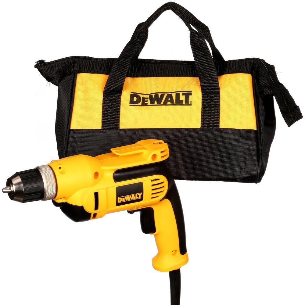 DEWALT 8 Amp Corded 3/8 in. Pistol Grip Drill