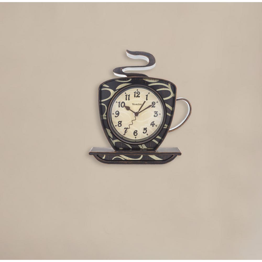3D Coffee Wall Clock