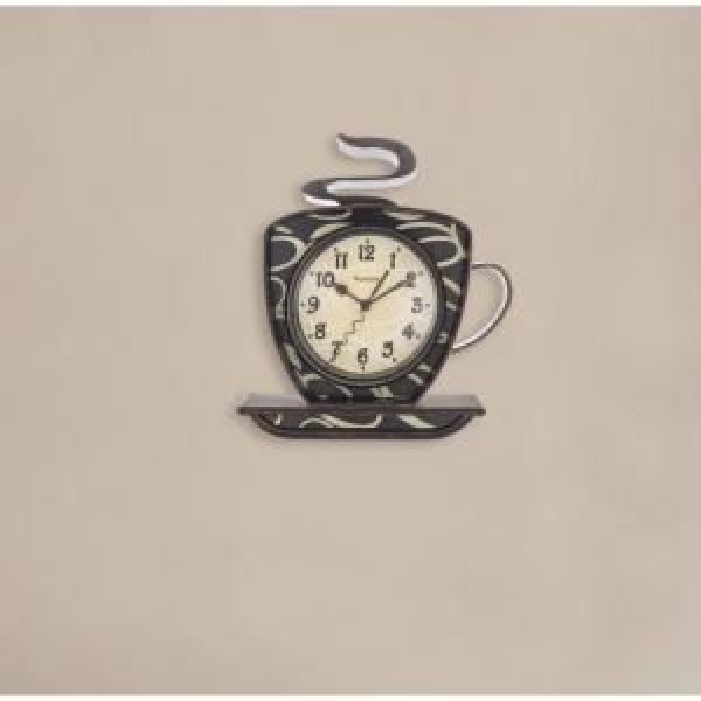 Westclox 3D Coffee Wall Clock 32038