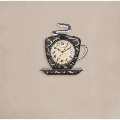 3D Coffee Wall Clock