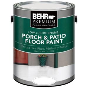 1 gal. Deep Base Low-Lustre Exterior Porch and Patio Floor Paint
