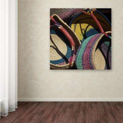 "14 in. x 14 in. ""Cheyenne Baskets"" by Pat Saunders-White Printed Canvas Wall Art"