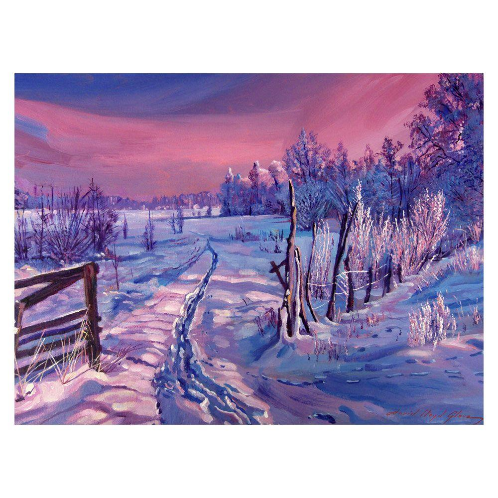 Trademark Fine Art 24 in. x 32 in. THe Road Home Canvas Art