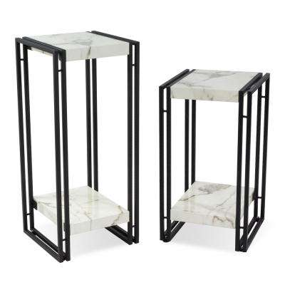 Urban Marble Accent Table Set