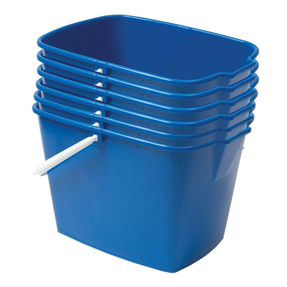 EMSCO 15 Qt. Heavy Duty Rectangular Utility Mop Bucket (6...