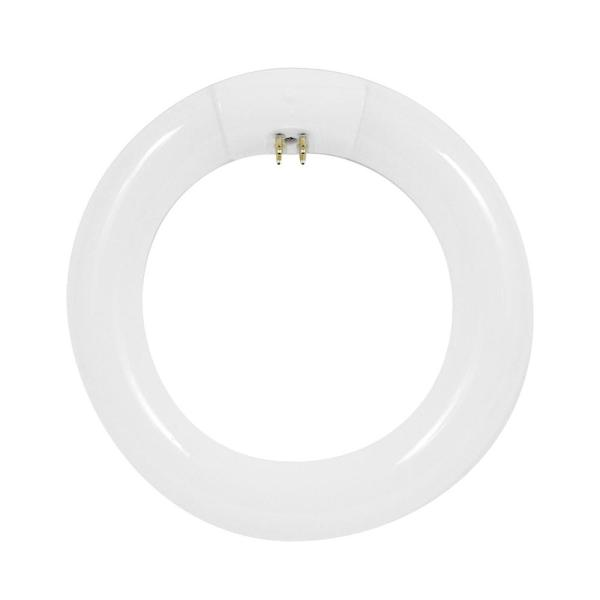 Feit Electric 120 Watt Equivalent Circline T9 Non Dimmable 4 Pin Base Compact Fluorescent Cfl 9 In Light Bulb Cool White 4100k Fc30 Cw The Home Depot