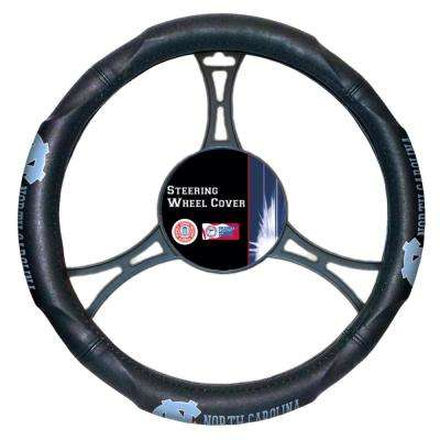 UNC Multi Colored Rubber- PVC Car Steering Wheel Cover