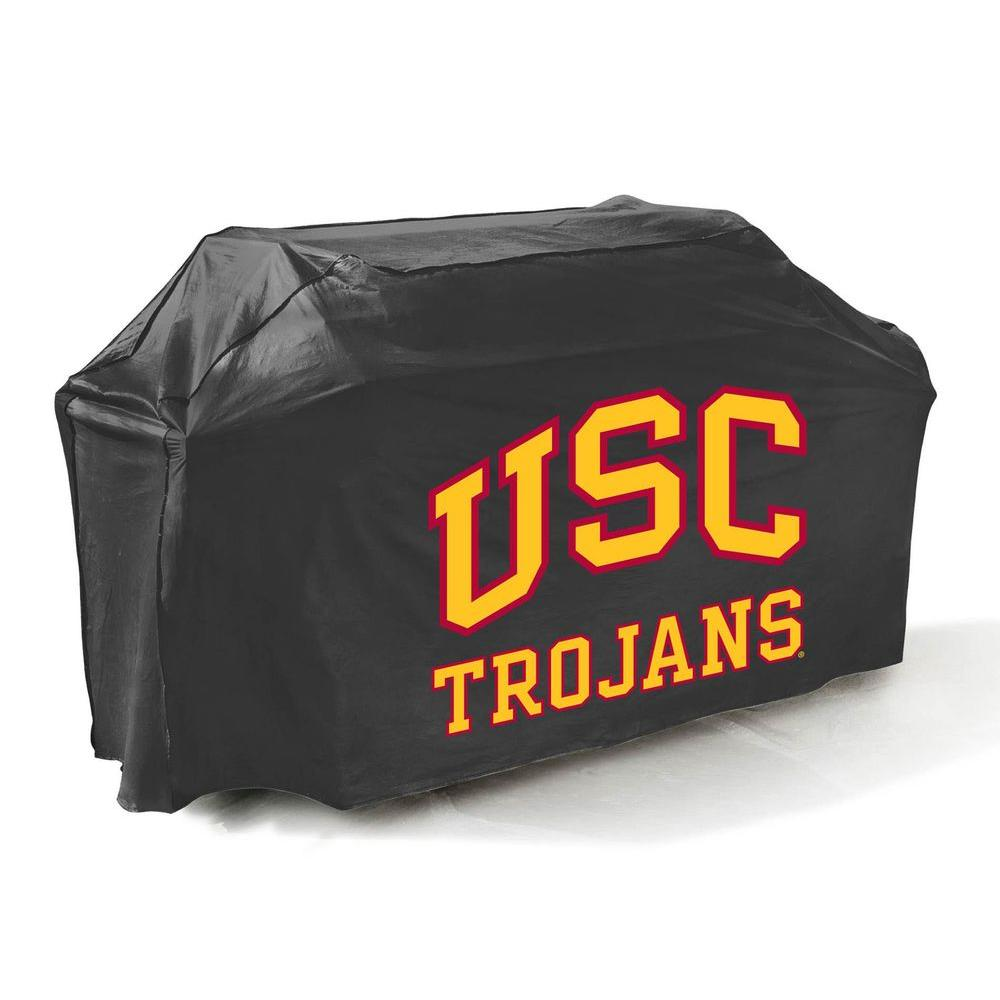 Mr. Bar-B-Q 65 in. NCAA USC Trojans Grill Cover-DISCONTINUED