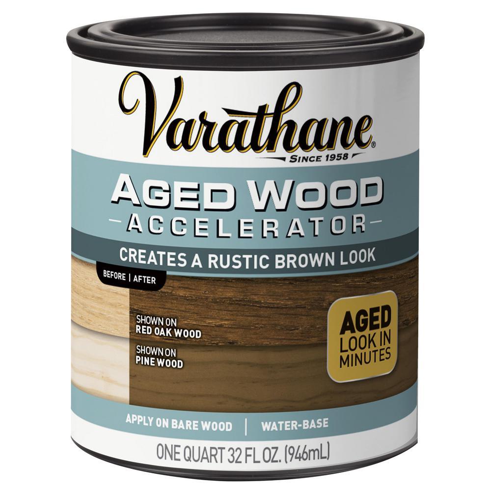 Varathane 1 qt. Aged Wood Accelerator