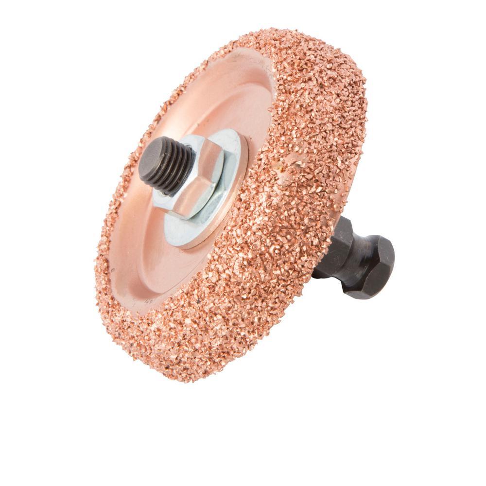 Steelman Carbide Buffing Wheel with Adapter by Steelman