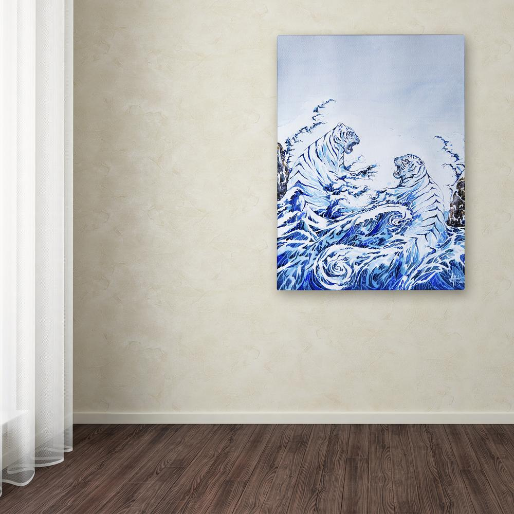 Marc Allante The Crashing Waves Poster New