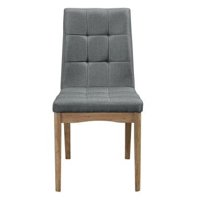 Barcelona Oak and Storm Upholstered Dining Chairs (2/ctn)
