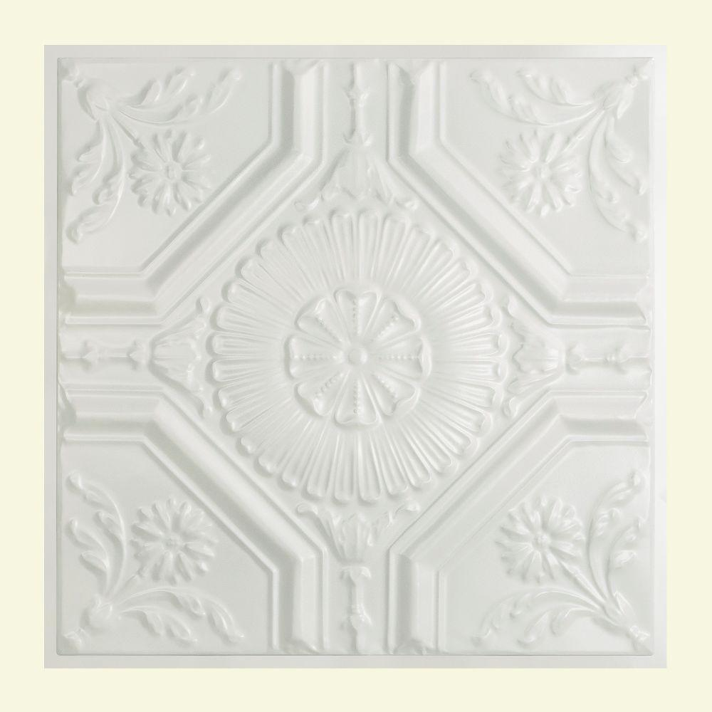 Great Lakes Tin Rochester 2 Ft X 2 Ft Lay In Tin Ceiling Tile In