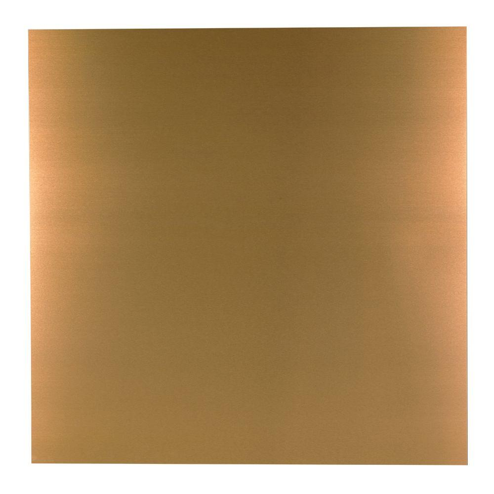 M D Building Products 36 In X 36 In Copper Aluminum Sheet 57526 The Home Depot