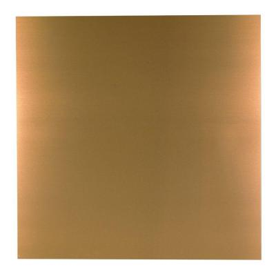 36 in. x 36 in. Copper Aluminum Sheet