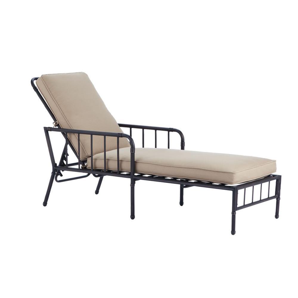Martha Stewart Living Bryant Cove Patio Chaise Lounge