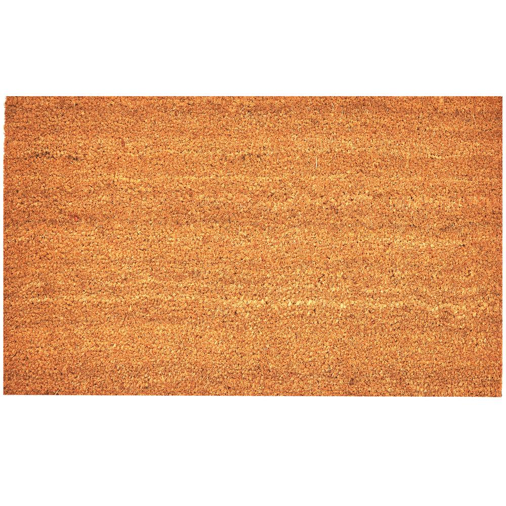 Envelor Natural Coco 30 In X 18 In Coir Door Mat En Vc