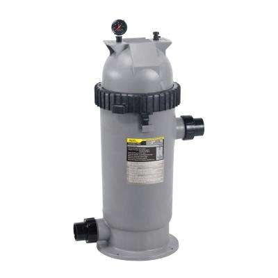 CS Series 200 sq. ft. 2 x 2.5 in. Unions Pool Cartridge Filter