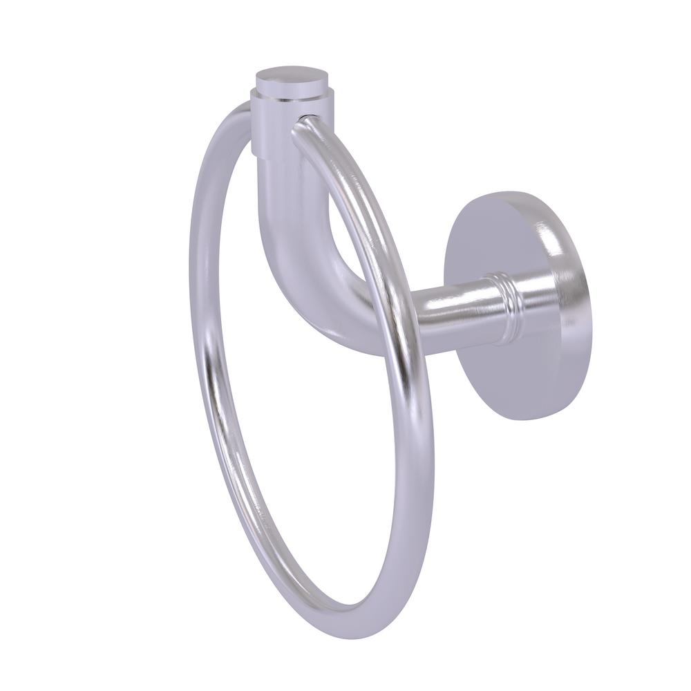 Allied Brass Remi Collection Towel Ring in Satin Chrome