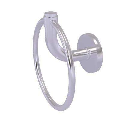 Remi Collection Towel Ring in Satin Chrome