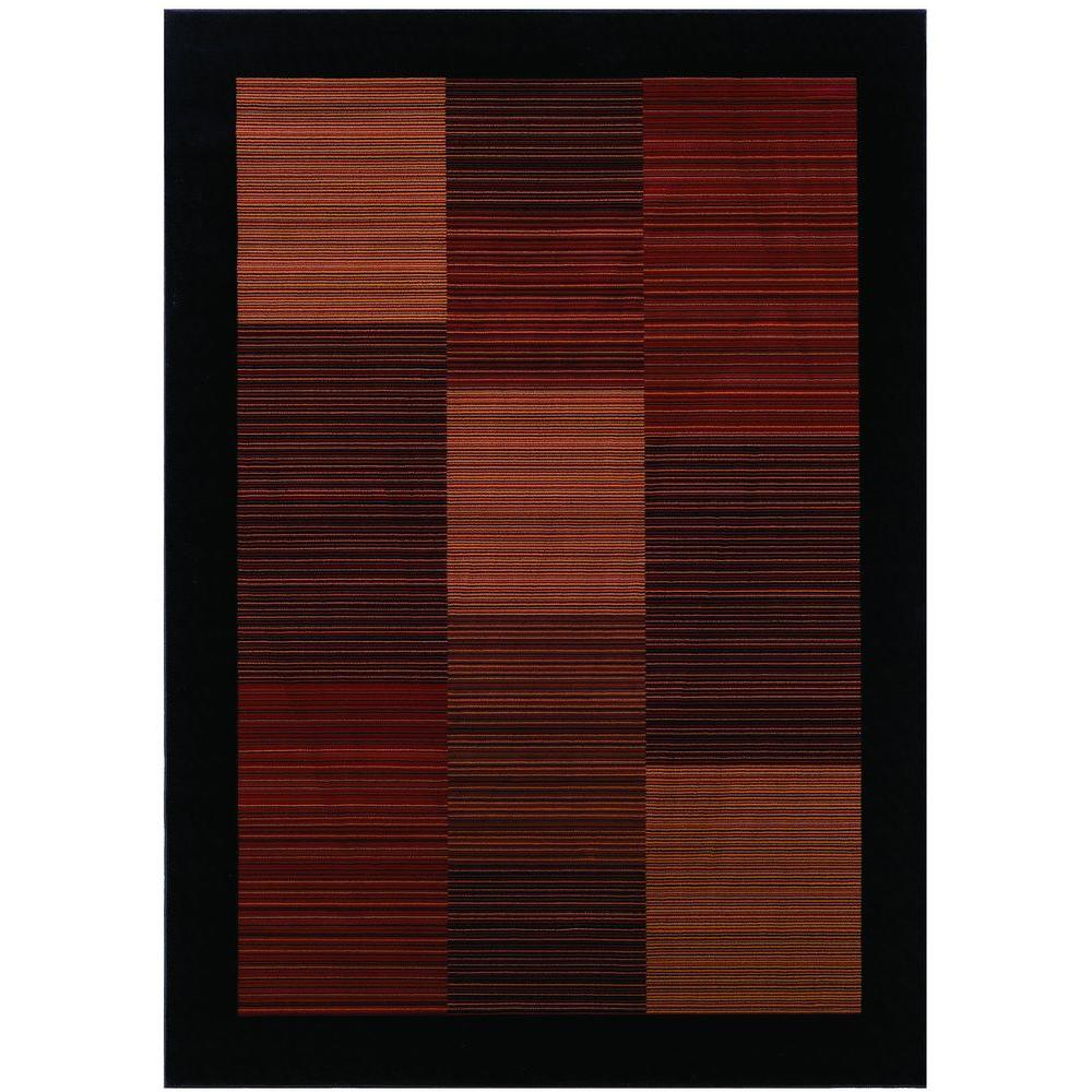 Everest Hampton's Multi Stripe 5 ft. 3 in. X 7 ft.