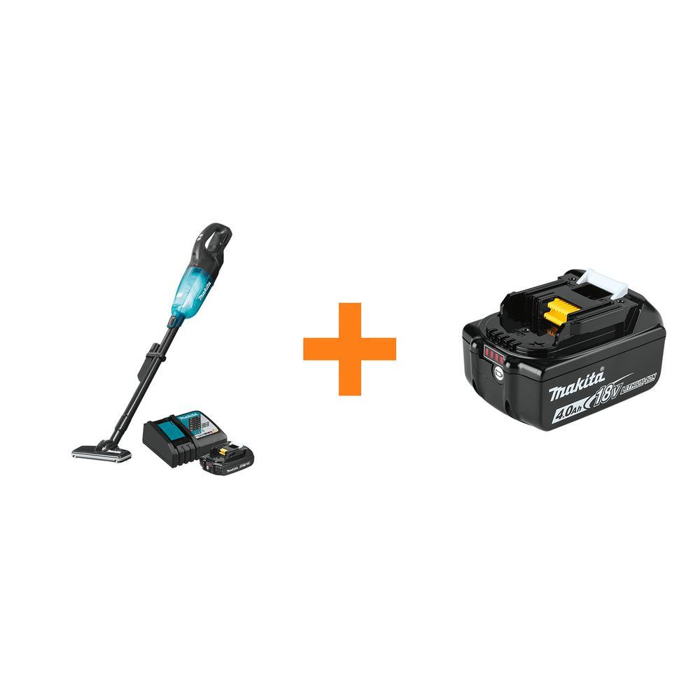 18-Volt LXT Lithium-ion Compact Handheld Brushless Cordless 3-Speed Vacuum Kit, with bonus 18-Volt 4.0Ah LXT Battery