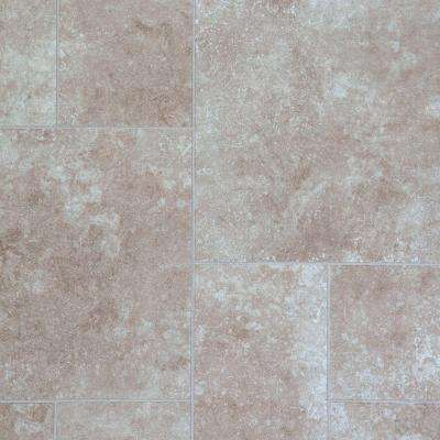 Lissine Travertine Laminate Flooring - 5 in. x 7 in. Take Home Sample