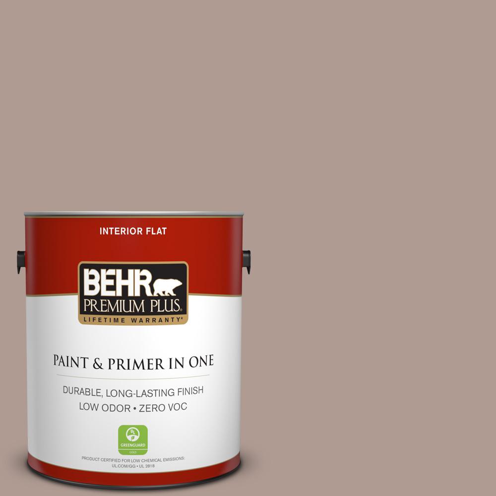 BEHR Premium Plus 1-gal. #N170-4 Coffee with Cream Flat Interior Paint