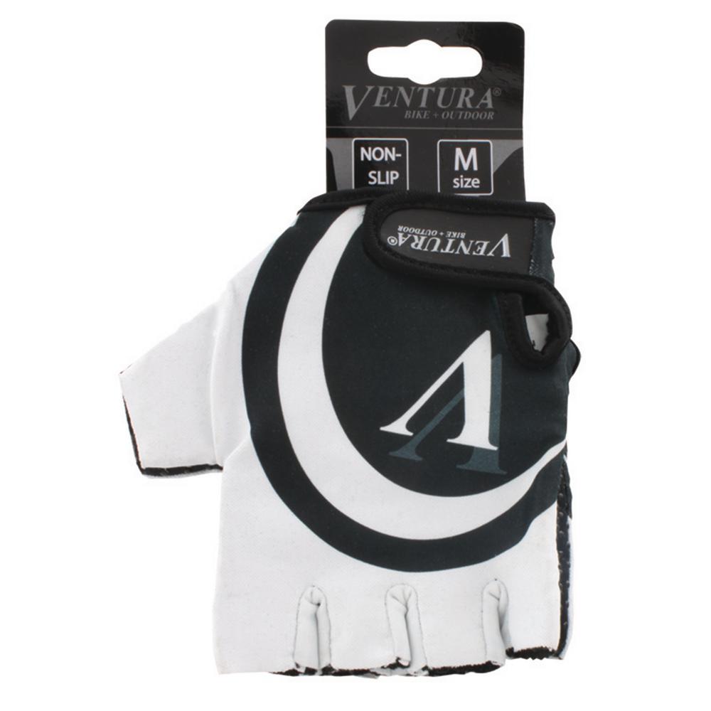 Small/Medium White Bike Gloves