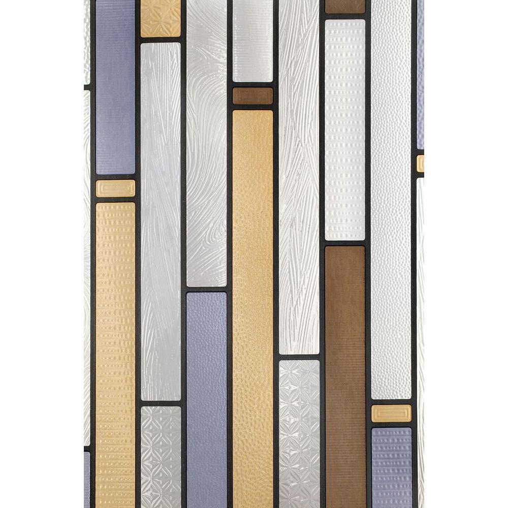 12 in. x 83 in. Modera Sidelight Decorative Window Film