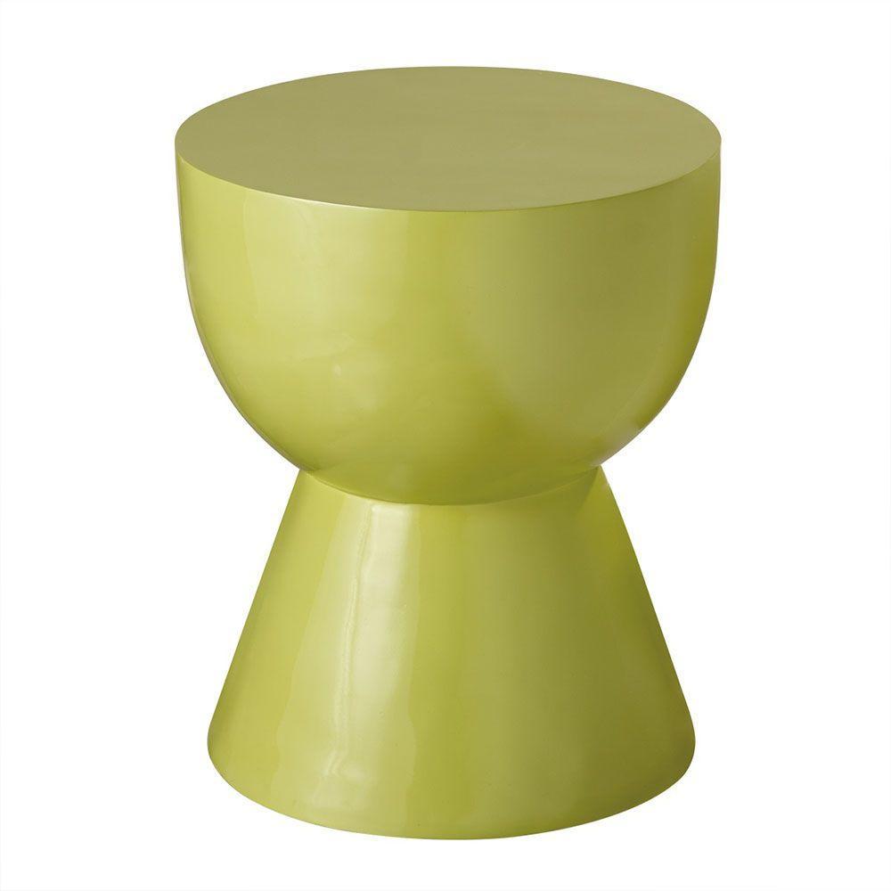 Sundry Green Resin Stool