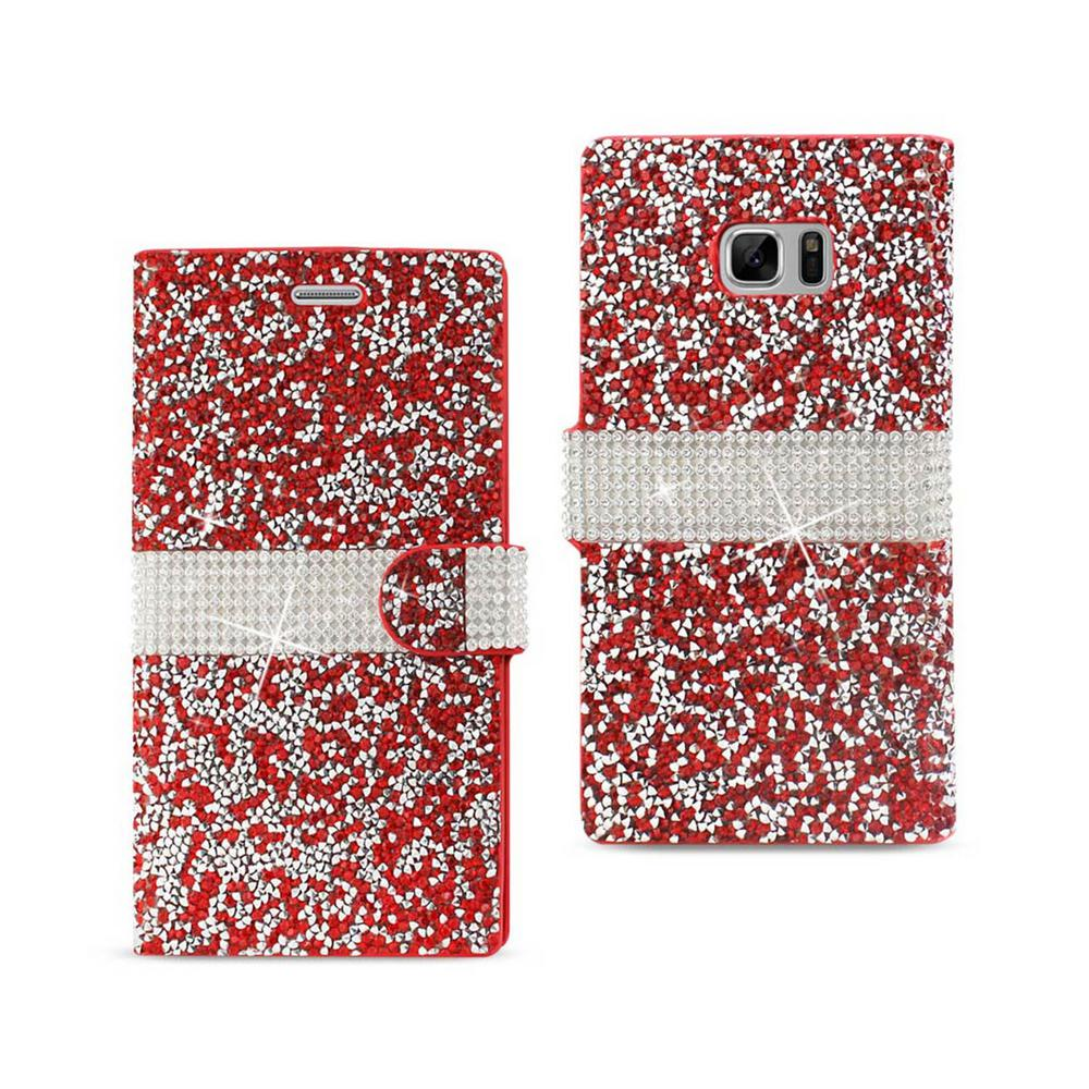Galaxy Note 7 Folio Case in Red