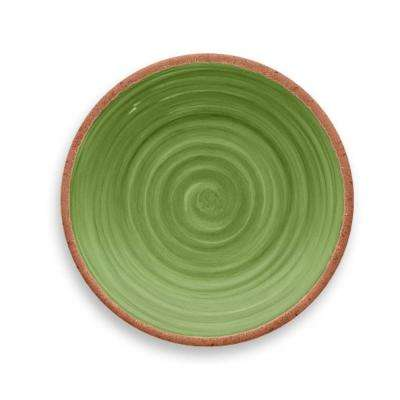 Rustic Swirl Green Salad Plate (Set of 6)
