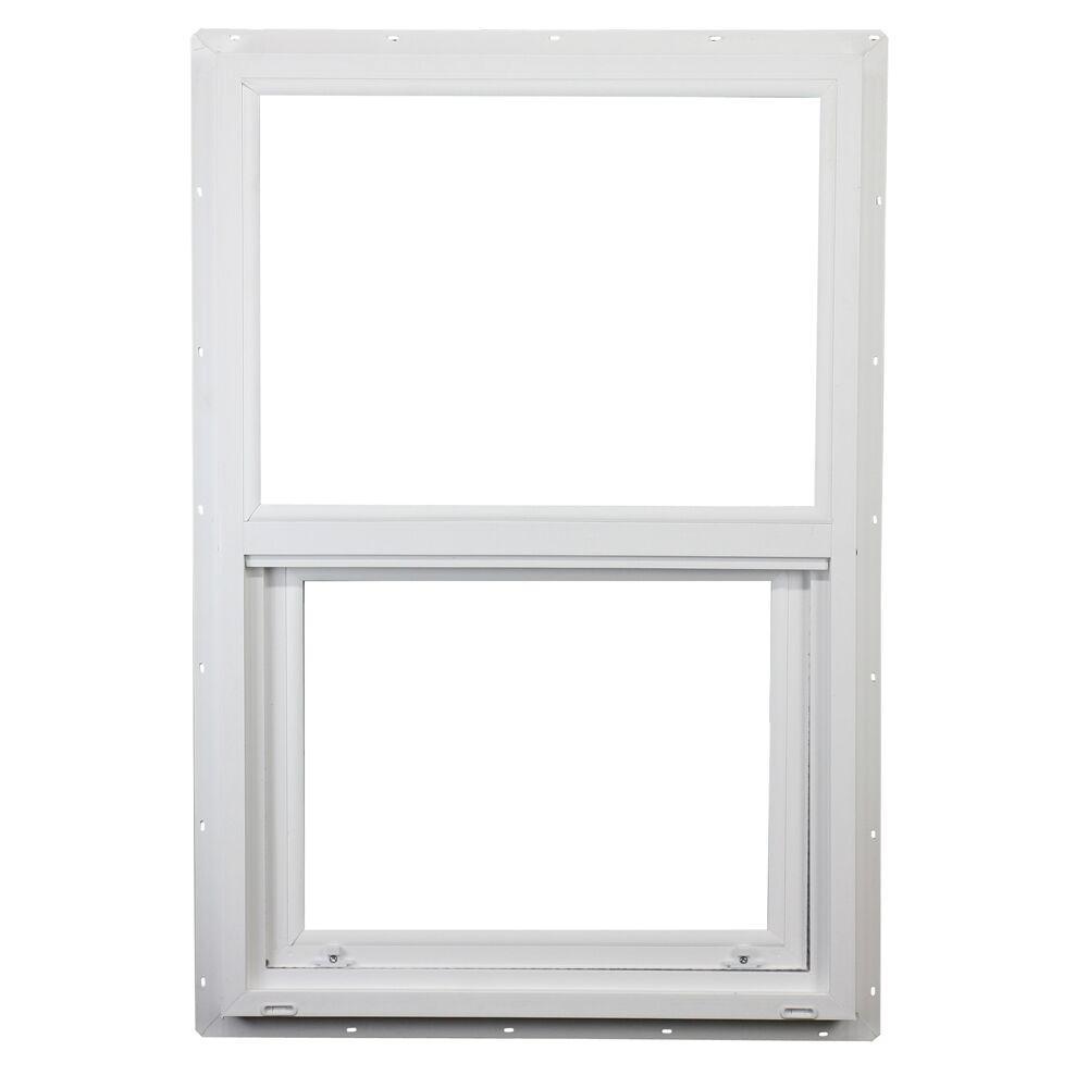 ply gem windows home depot vinyl siding ply gem 235 in 355 400 series single hung vinyl window