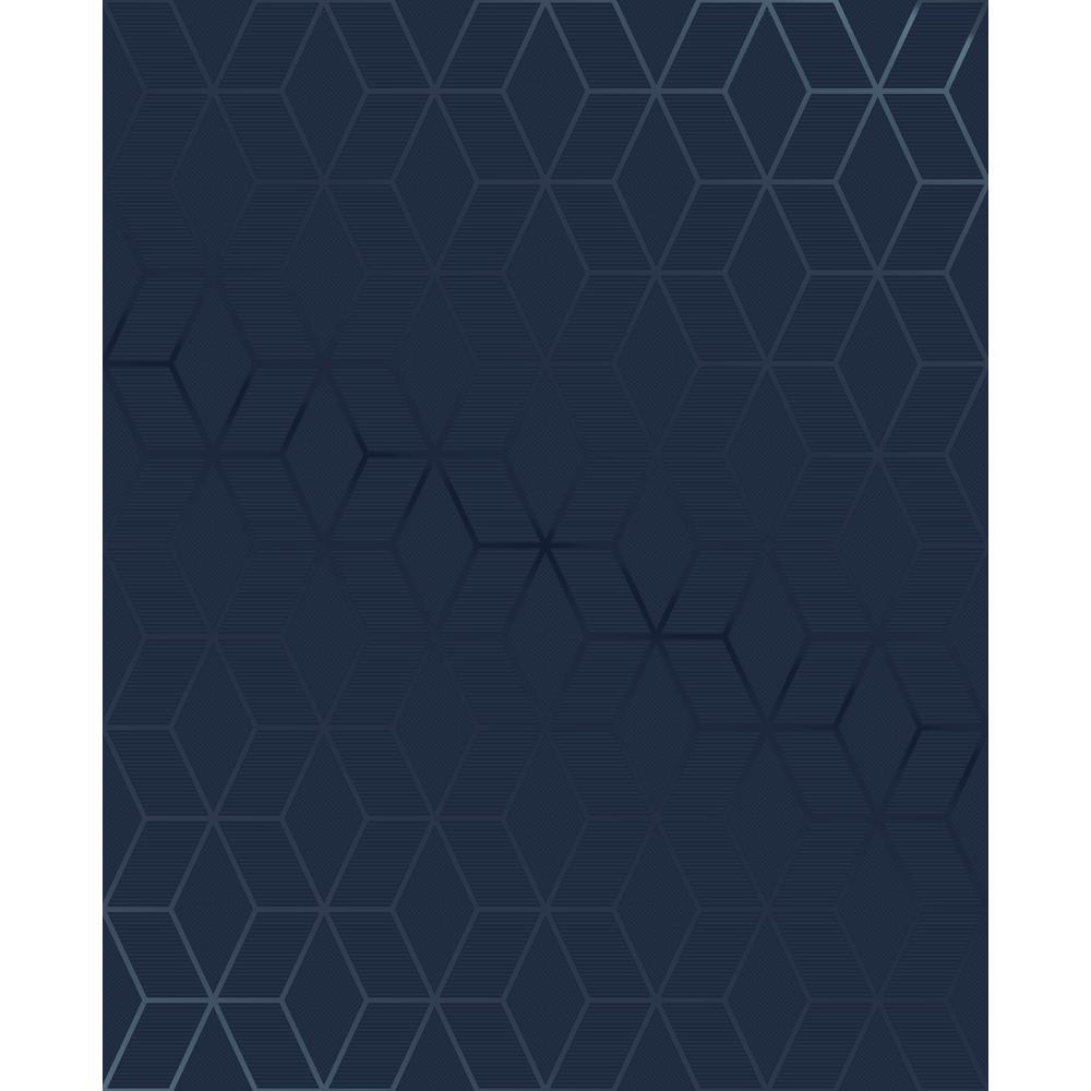 Superfresco Easy Kabuki Prism Blue Removable Wallpaper 101313
