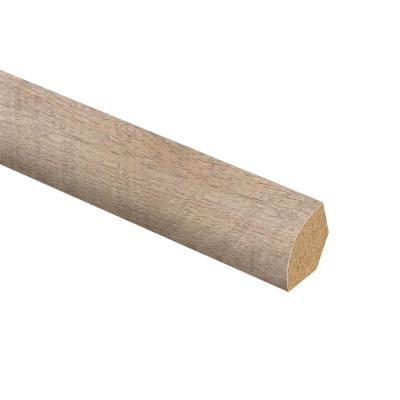 Alder Springs Oak 5/8 in. Thick x 3/4 in. Wide x 94 in. Length Laminate Quarter Round Molding