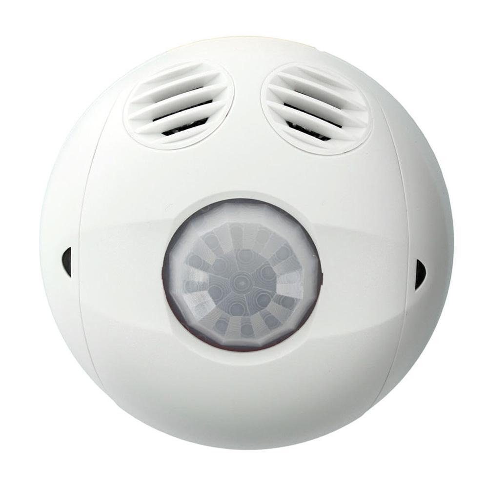 Multi-Technology Passive Infrared/Ultrasonic 0500 sq. ft. 180-Degree Ceiling Mount Occupancy Sensor, True White