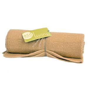 Art Style Design Living Knitted Kitchen Towel, Mustard Yellow by Art Style Design Living