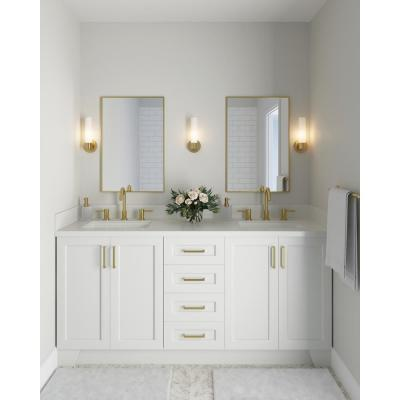 Taylor 72 in. W Vanity Cabinet Only in White