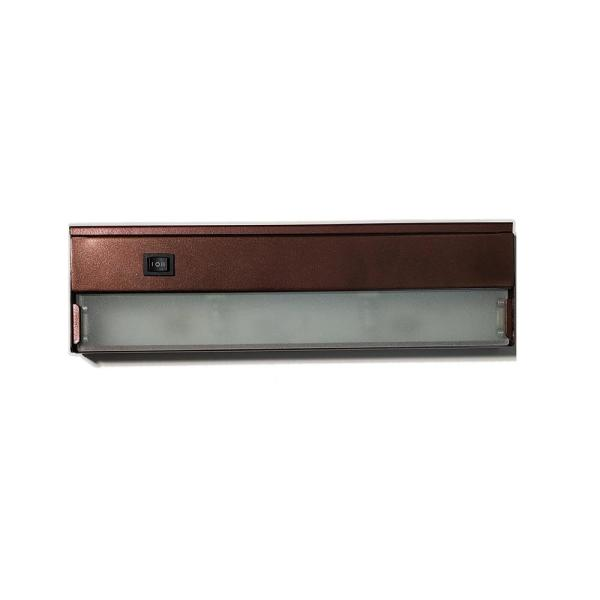 40 in. Xenon Bronze Under Cabinet Light High and Low Switch