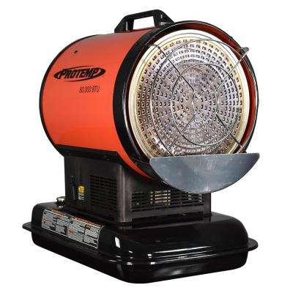 80,000 BTU Radiant Kerosene/Diesel Space Heater with Silent Drive