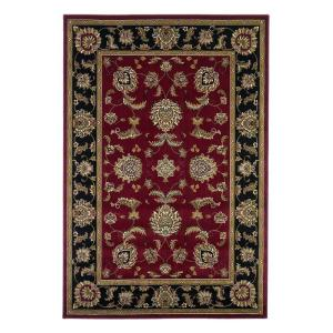 Kas Rugs Classic Bijar Red/Black 9 ft. 10 inch x 13 ft. 2 inch Area Rug by Kas Rugs